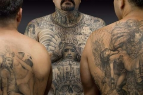 3 men tattoos