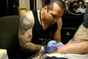 corey tattooing