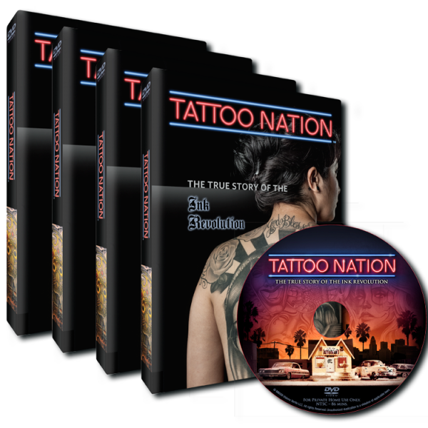 Tattoo Nation DVD 4-Pack
